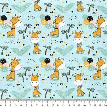 Tecido-tricoline-infantil-girafa-com-balao-fundo-azul-Della-Aviamentos-9707.