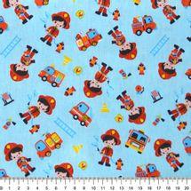 Tecido-tricoline-infantil-bombeiro-fundo-azul-Della-Aviamentos-9708.
