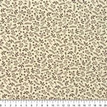 Tecido-tricoline-ramos-marrom-fundo-bege-Della-Aviamentos-9733.