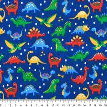Tecido-Tricoline-infantil-dinossauros-fundo-azul-Della-Aviamentos-9674.