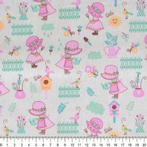 Tecido-tricoline-menina-no-jardim-fundo-bege-Della-Aviamentos-9677.