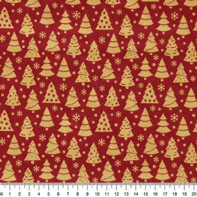 Tecido-Tricoline-Arvore-de-Natal-Fundo-Vermelho-Della-Aviamentos-9691.
