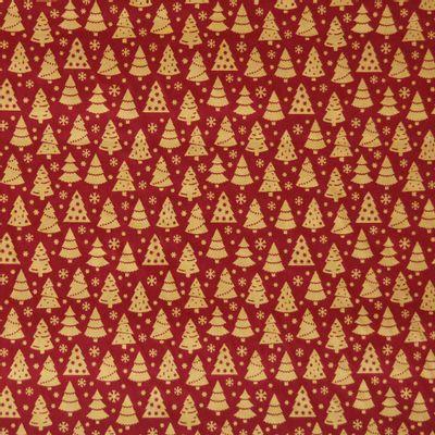 Tecido-Tricoline-Arvore-de-Natal-Fundo-Vermelho-Della-Aviamentos-9691