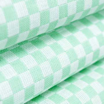 Tecido-Xadrez-Para-Bordar-140-m-Verde-Claro-Della-Aviamentos
